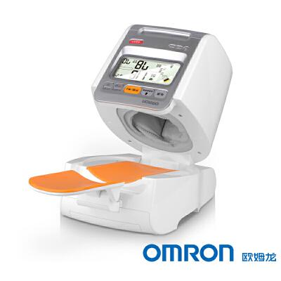 欧姆龙电子血压计HEM-1020 智能高端臂筒式 带电源  更多优惠搜索【好药师欧姆龙】操作简单 安全无忧 高端大气质量保障