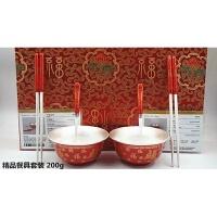 足银999银碗筷勺餐具套装长辈摆件福龙凤结婚宝宝满月周岁礼物