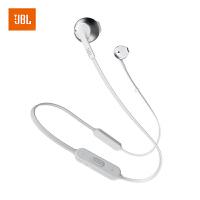 【当当自营】JBL TUNE205BT 冷谈银 无线蓝牙耳机 运动耳机 T205BT半入耳式音乐耳机 带麦手机可通话