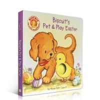 英文少儿童原版绘本 小饼干 Biscuit's Pet & Play Easter 纸板书 启蒙阅读 汪培�E推荐一阶段