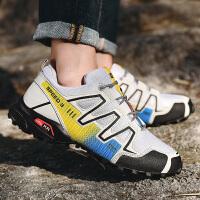 男鞋运动鞋男夜光跑步鞋春季新款韩版 耐磨减震男士休闲鞋 跑鞋子男