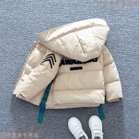 男童冬装2018新款儿童棉袄冬季加厚外套洋气宝宝棉衣潮