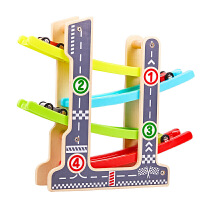 儿童智力玩具男孩惯性回力小汽车车滑翔车1-2-3周岁宝宝轨道车