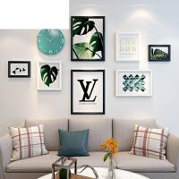 简约创意相框挂墙组合欧式少女背景墙照片墙ins装饰品客厅相片墙
