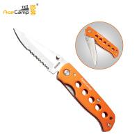 Acecamp路客户外铝柄折刀 水果刀2515