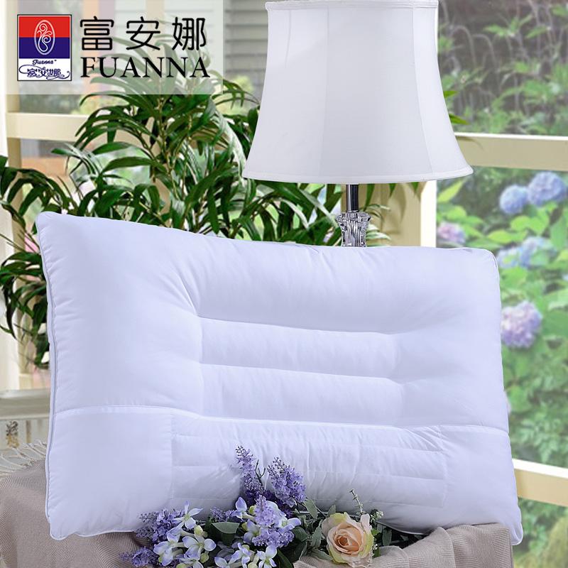 【双十二年度钜惠 限时秒杀】富安娜家纺 草本清香决明子健康枕头枕芯 白色 74*48cm一对装