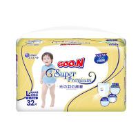 GOO.N?大王 短裤式纸尿裤 光羽系列 L32片