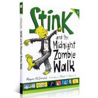 Stink系列第7部 Stink and the Midnight Zombie Walk Judy Moody系列同