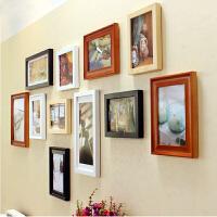 创意礼品 实木相框照片墙客厅相框墙相框组合照片墙