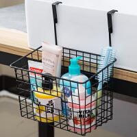 橱柜挂篮厨房用品收纳篮多功能免打孔门后储物架浴室卫生间置物架