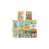 英文原版书绘本 老鼠记者 Geronimo Stilton 11-20 第二套 1-10续集 全彩擦画漫画 桥梁章节书