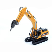 挖掘机挖土机玩具汽车模型仿真合金工程车玩具车儿童汽车男