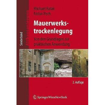 【预订】Mauerwerkstrockenlegung: Von Den Grundlagen Zur 美国库房发货,通常付款后3-5周到货!