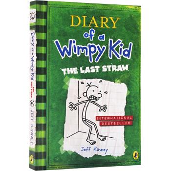 小屁孩日记3英文原版小说入门级 Diary of a Wimpy Kid book #3 The Last Straw 小屁孩成长记 我的生活像本书 儿童课外励志校园漫画小说
