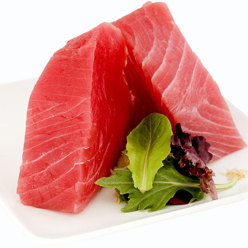 速鲜 印尼进口大目红金枪鱼刺身中段300g新鲜冷冻即食日式刺身料理 【赠送芥末酱油】不提供切片服务,肉质鲜嫩