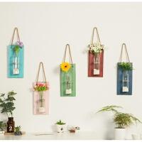 墙壁装饰餐厅卧室墙面墙上装饰品创意家居壁挂水培花瓶挂墙花盆