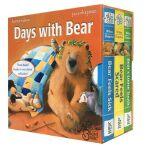 英文原版绘本 吴敏兰推荐 小熊生病/害怕/牙仙子Days with Bear: Bear Feels Scared/B