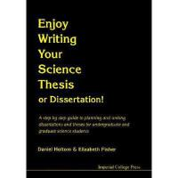 【预订】Enjoy Writing Your Science Thesis or Dissertation!:
