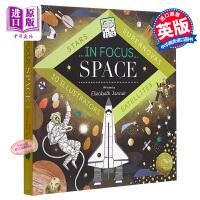 【中商原版】In Focus Space 聚焦太空 儿童太空知识科普绘本亲子学习 精装 英文原版 7-12岁
