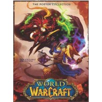 进口原版 World of Warcraft: Poster Collection 魔兽世界:海报收集(平装) 画册