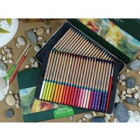 MARCO马可雷诺阿水溶性彩色铅笔 3120 -48色 36色 24色 水溶彩铅铅笔套装铁盒 圣诞礼物 秘密花园适用彩