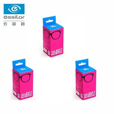 依视路爱赞擦镜纸 单反镜头镜布数码清洁纸湿巾 屏幕镜头纸30片装*3