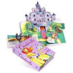 【顺丰包邮】英文原版 Cinderella A Pop-Up Fairy Tale 灰姑娘立体书 精装 正版进口,百源
