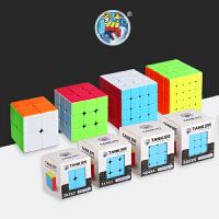 玩具学生魔方坦克三阶四4阶实色异形金字塔顺滑初学者