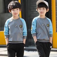 童装男童卫衣新款中大童春装儿童长袖套头T恤上衣