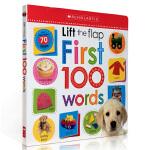 【顺丰速运】英文原版绘本 词汇字典纸板翻翻机关书 Scholastic Early Learners : Lift T