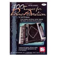 【预订】100 Tunes for Piano Accordion