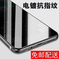 iPhoneX钢化膜苹果X高清指纹防爆玻璃膜抗蓝光手机贴膜