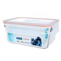 GLASSLOCK/三光云彩韩国玻璃饭盒微波炉烤箱可用保鲜盒ORRT-178