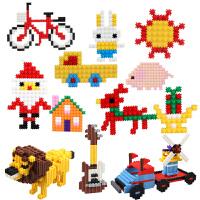 儿童积木玩具立体拼装5-6-7周岁男女孩散件塑料创意拼插