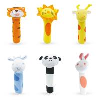 动物bb棒bibi棒手摇铃新生儿宝宝婴儿玩具0-1岁 ++长劲鹿+++兔子
