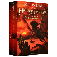 Harry Potter and the Order of the Phoenix 哈利波特与凤凰社【英文原版 第五部