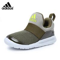阿迪达斯adidas童鞋17新款小海马系列训练鞋轻便防滑小童跑步鞋儿童运动鞋 橄榄绿/浅棕/亮黄荧光(5-10岁可选) CG3257