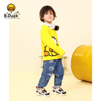 【3折价:98.7】B.duck小黄鸭童装男童裤子2020春季新款儿童牛仔裤中大童外穿时尚长裤BF1156901