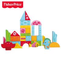 费雪 儿童积木玩具3-4-6周岁女孩 宝宝益智男孩木制拼装1-2周岁