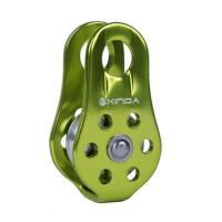 户外固定式登山单滑轮吊装滑轮横渡攀岩绳索滑索滑轮
