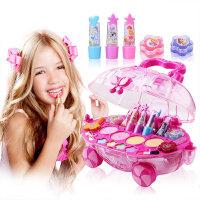 【直降3折起】迪士尼公主化妆车彩妆盒儿童化妆品套装女孩过家家玩具生日礼物
