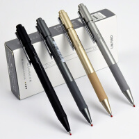 中性笔笔 学生用黑笔水笔乐素按动签字笔办公用品文具