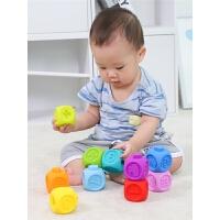 婴儿手抓球0-12个月男孩宝宝婴儿软胶玩具