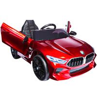 新款儿童电动车四轮汽车遥控玩具车可坐人小孩婴儿车带摇摆