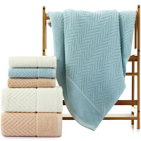 三利 纯棉A类标准简约素雅大浴巾 男女同款 柔软舒适吸水裹身巾