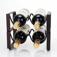 酒瓶架酒架架子摆件家居摆设家用酒具酒架红酒架摆件