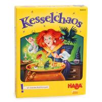 德国HABA桌游玩具混乱的大锅 儿童智力游戏卡牌互动玩具 6岁以上