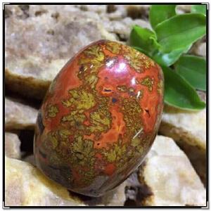 天然玛瑙项坠战国红大桶珠AHO971