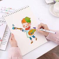 包邮马克笔绘画本 手绘设计绘画本A4马克笔专用纸空白涂鸦手绘图画本儿童成人画画本图画本速写本素描本