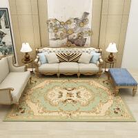 欧式地毯客厅卧室茶几垫沙发床边毯满铺地毯北欧美式长方形定制 2.0*3.0 加密加厚